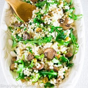Couscous and Arugula Salad