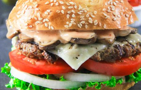 Beef Burger_-10