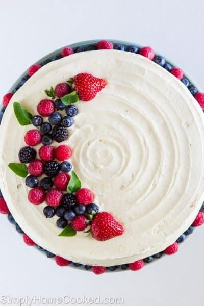 Berry Cake-35