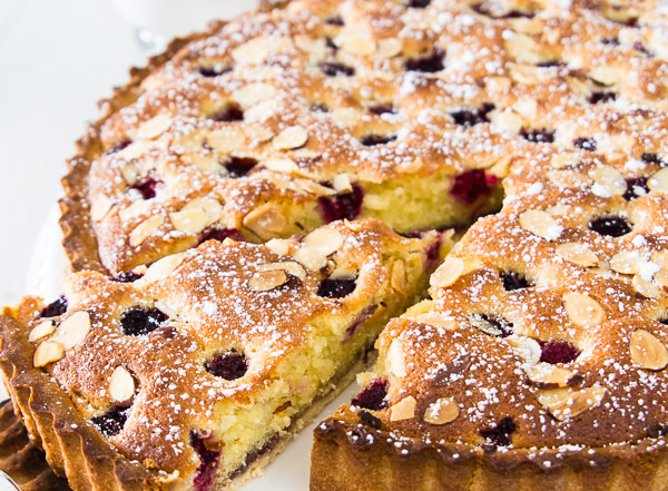 Raspberry almond tart-25