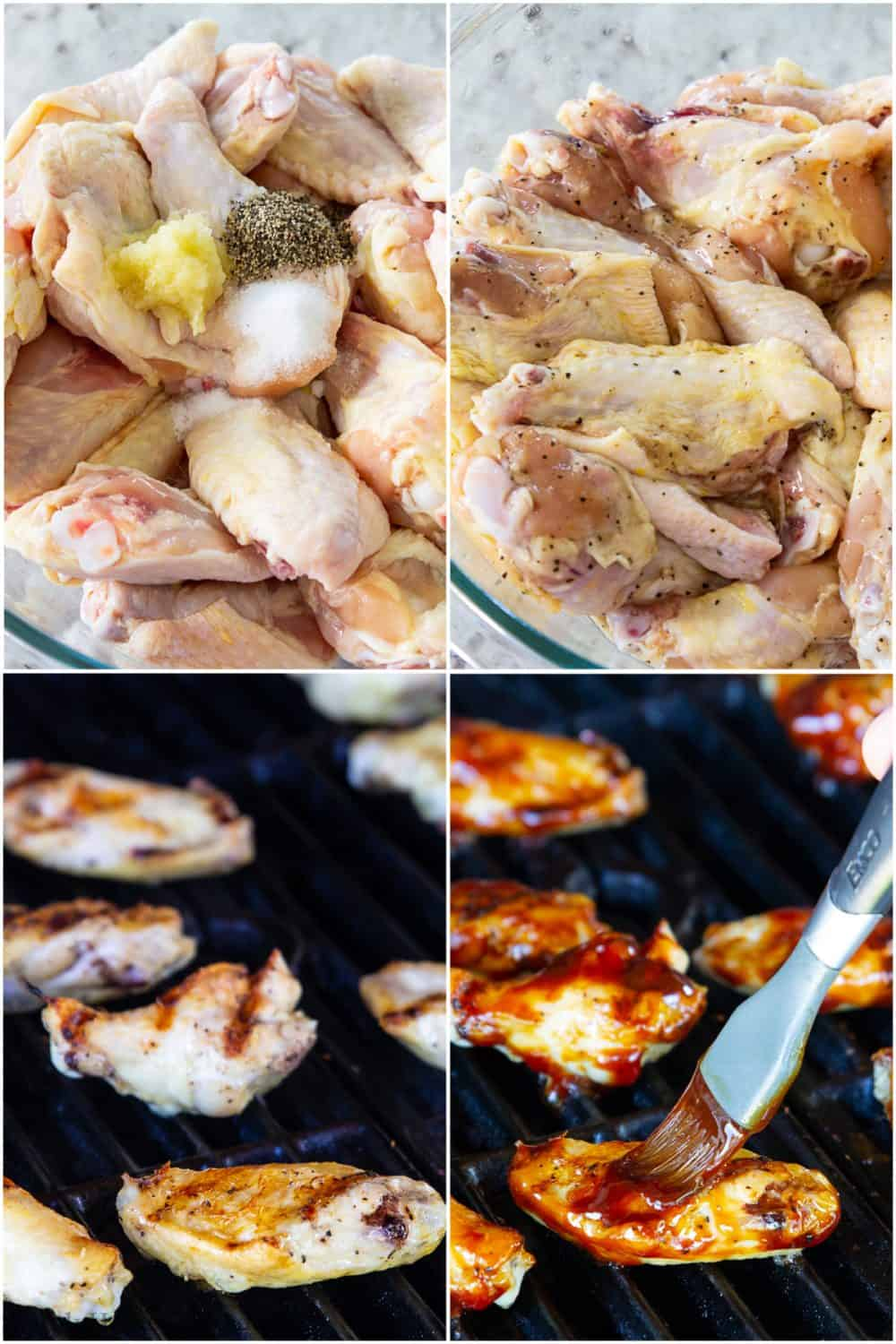 How to make easy bbq chicken wings