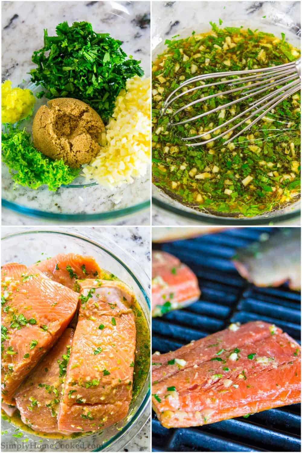 steps to make cilantro lime salmon