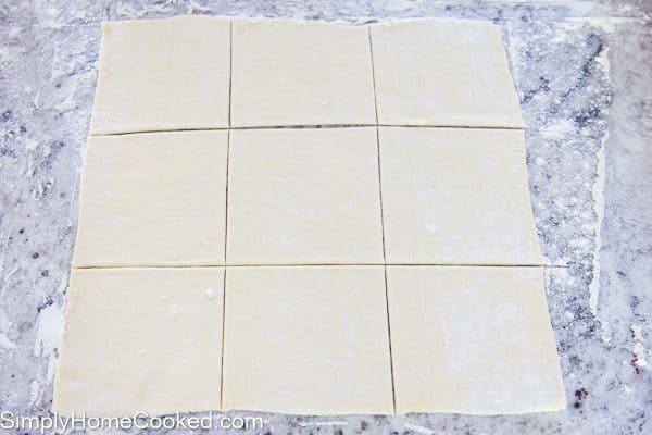 Mini cherry cheese danishes-9