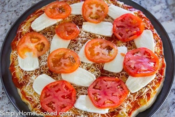 Margherita pizza-14