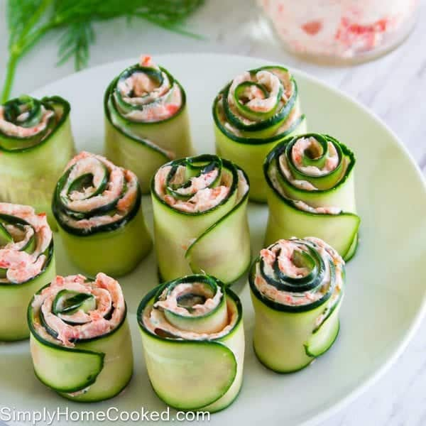 smoked salmon cucmber rolls 13