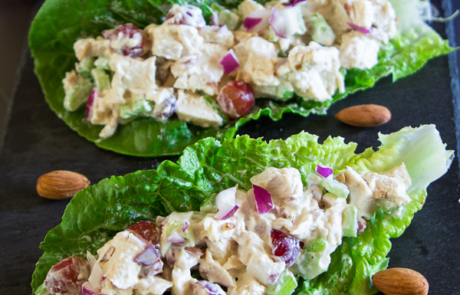 Almond Chicken Lettuce Wrap-11