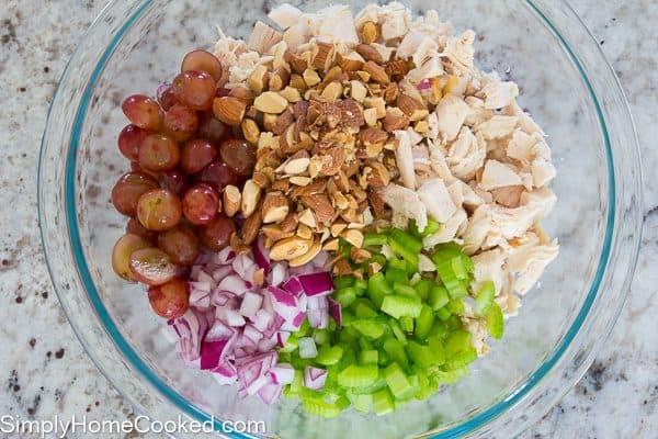 Almond Chicken Lettuce Wrap-6
