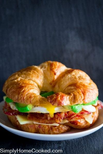 Croissant Breakfast Sandwich-15