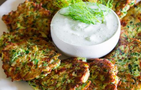 Greek Zuchini Fritters-10