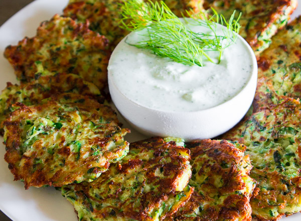 Greek Zuchini Fritters-10