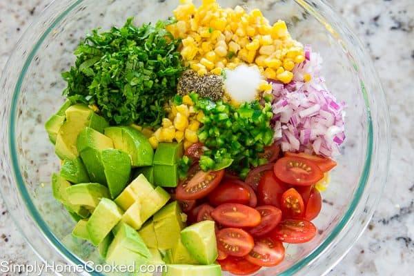 Grilled Corn Salad-4