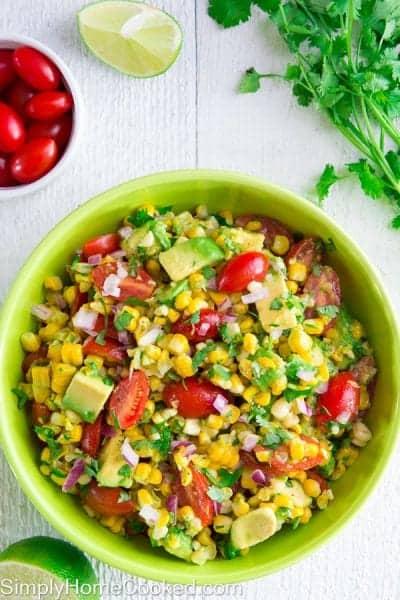 Grilled Corn Salad-7