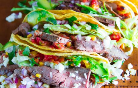 Grilled steak tacos-2