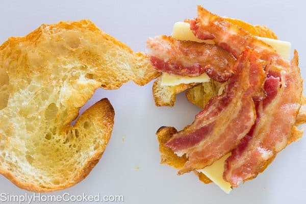croissant breakfast sandwich-4