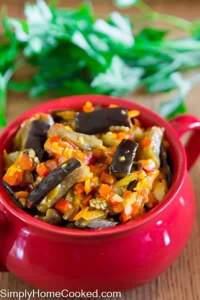 how to make eggplant salad