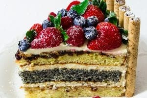 Royal Layer Cake