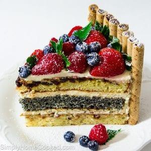 Royal Layer Cake