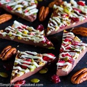Fruit & Nut Chocolate Bark