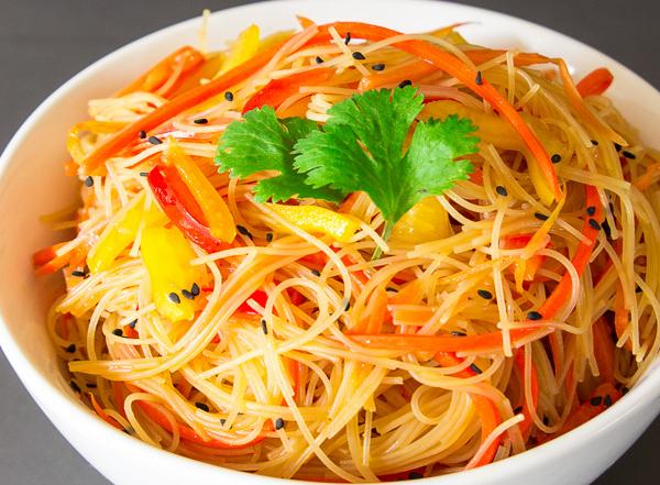 Rice noodle salad-30