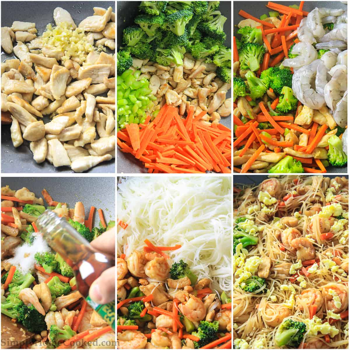 Gluten-Free Stir Fry - With Rice Noodles - Simply Home Cooked