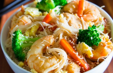 rice noodle stirfry-5