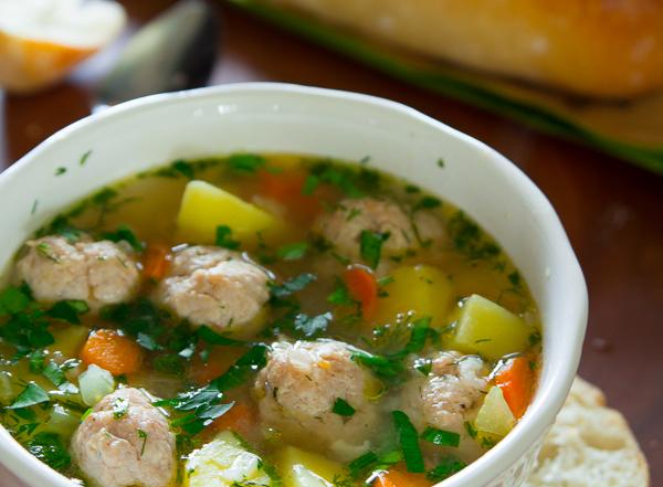 Meatball Soup-16