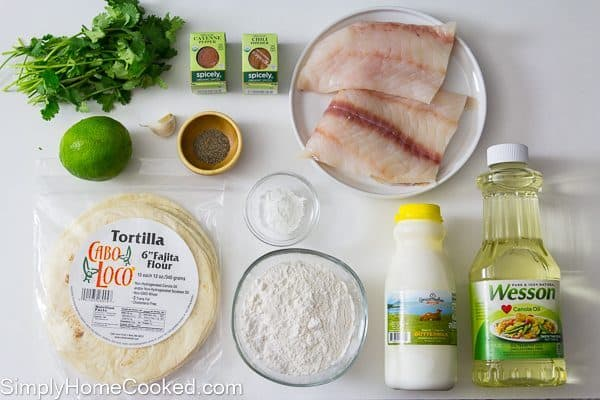 fried fish tacos ingredients