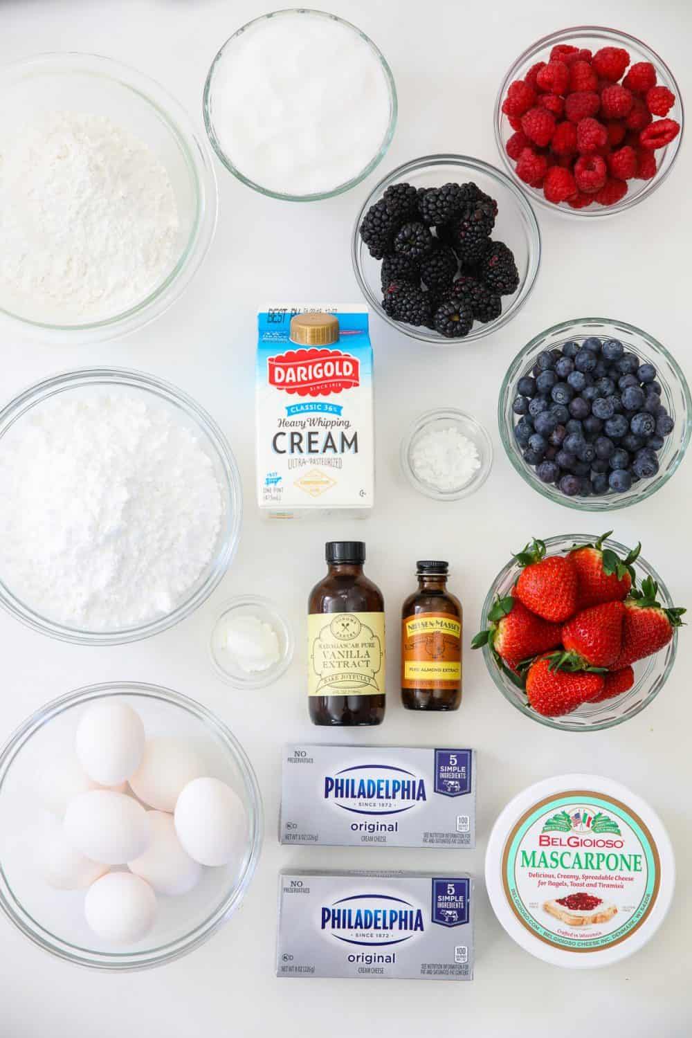 the secret to the best berry Chantilly cake is quality ingredients