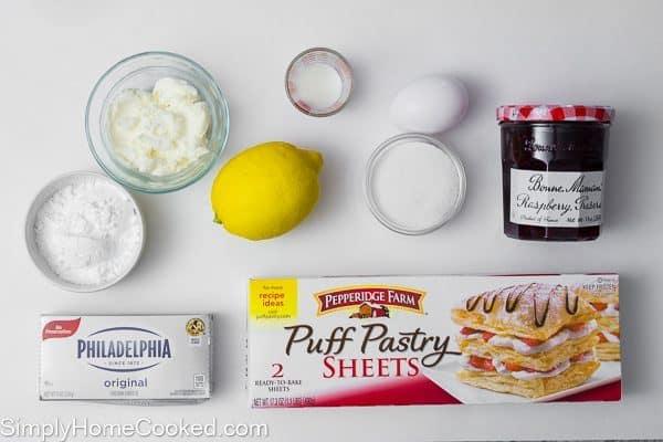 raspberry danish ingredients