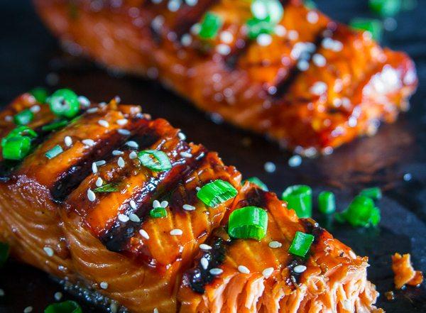 Grilled teriyaki salmon-21
