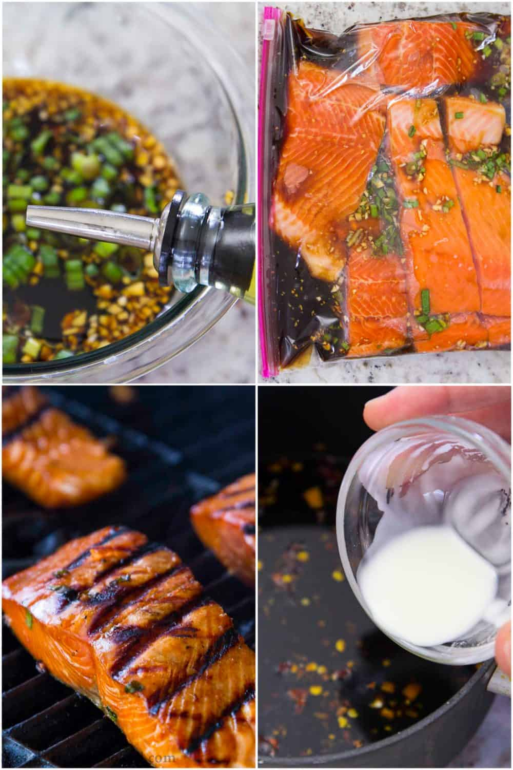 steps to make teriyaki salmon