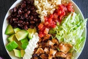 Chipotle Chicken Bowls