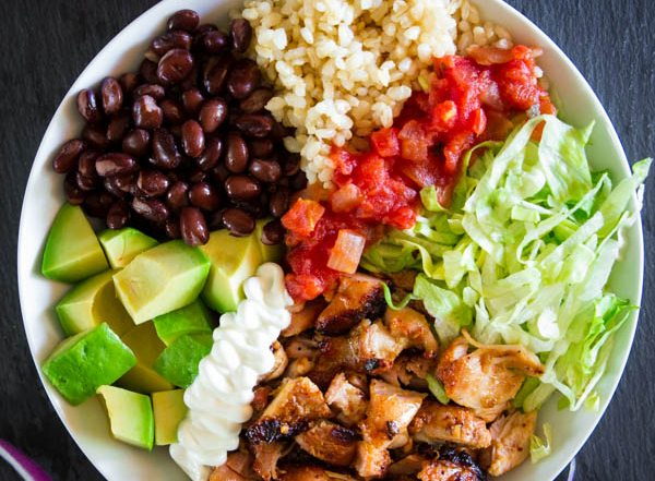 Chipotle chicken bowls (10 of 10)