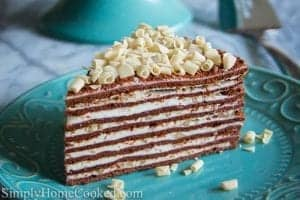 Chocolate Honey Layer Cake