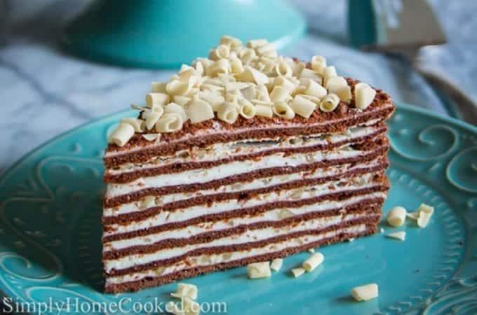 Chocolate Honey Layer Cake (Спартак)