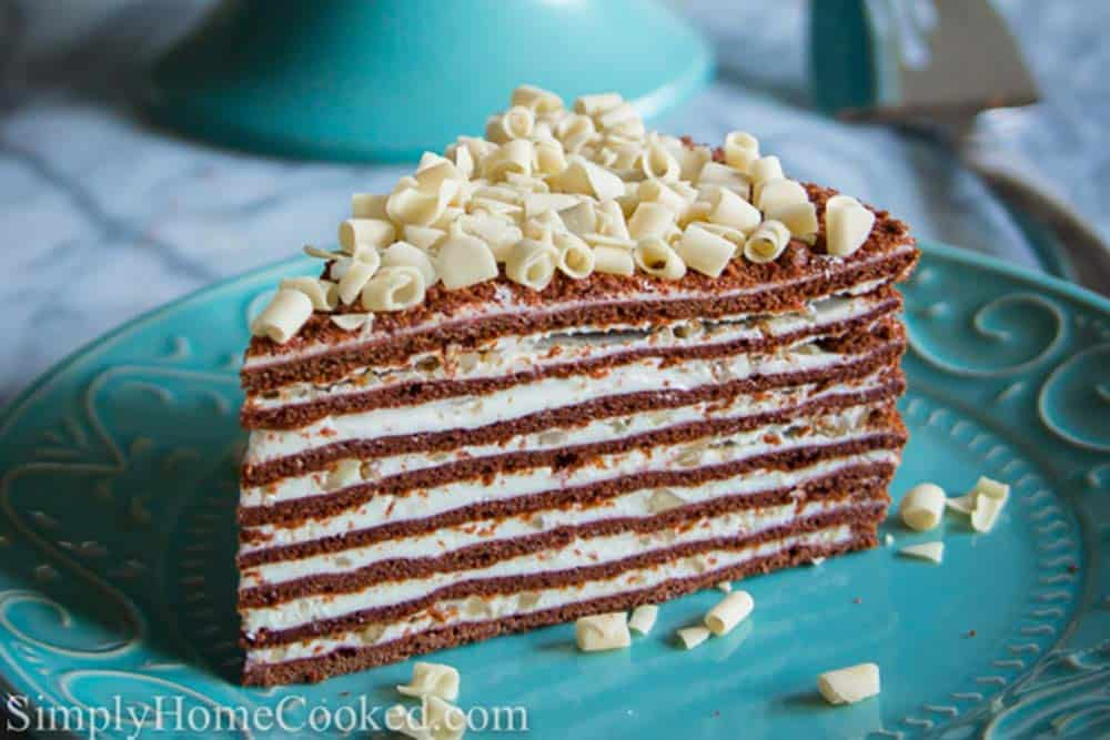 Chocolate Honey Layer Cake