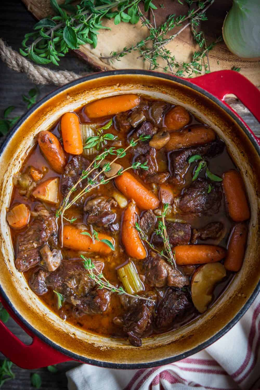 Braised Beef Stew Recipe Simply Home Cooked