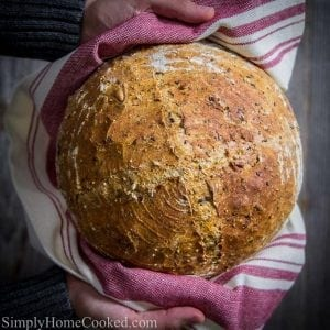 Overnight Harvest Bread
