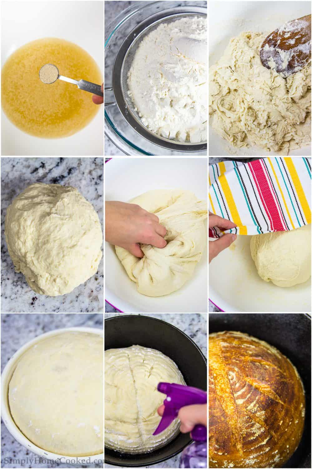how to make Rustic Bread step by step pictures