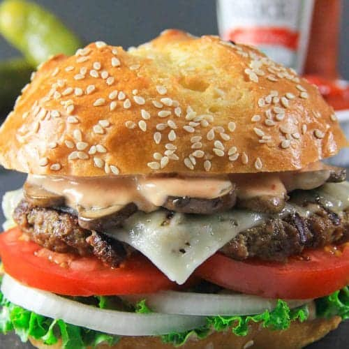 Homemade Beef Burger Patty Recipe