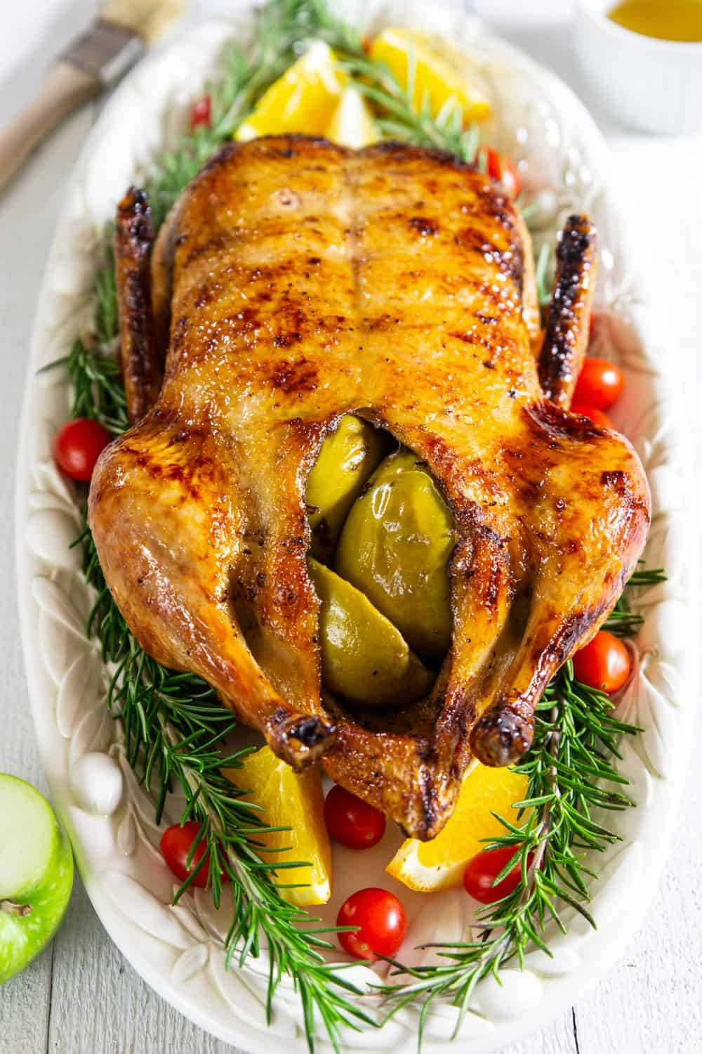 This crispy golden skin roast duck recipe is a perfect holiday meal option to celebrate with your family with delicious flavor.