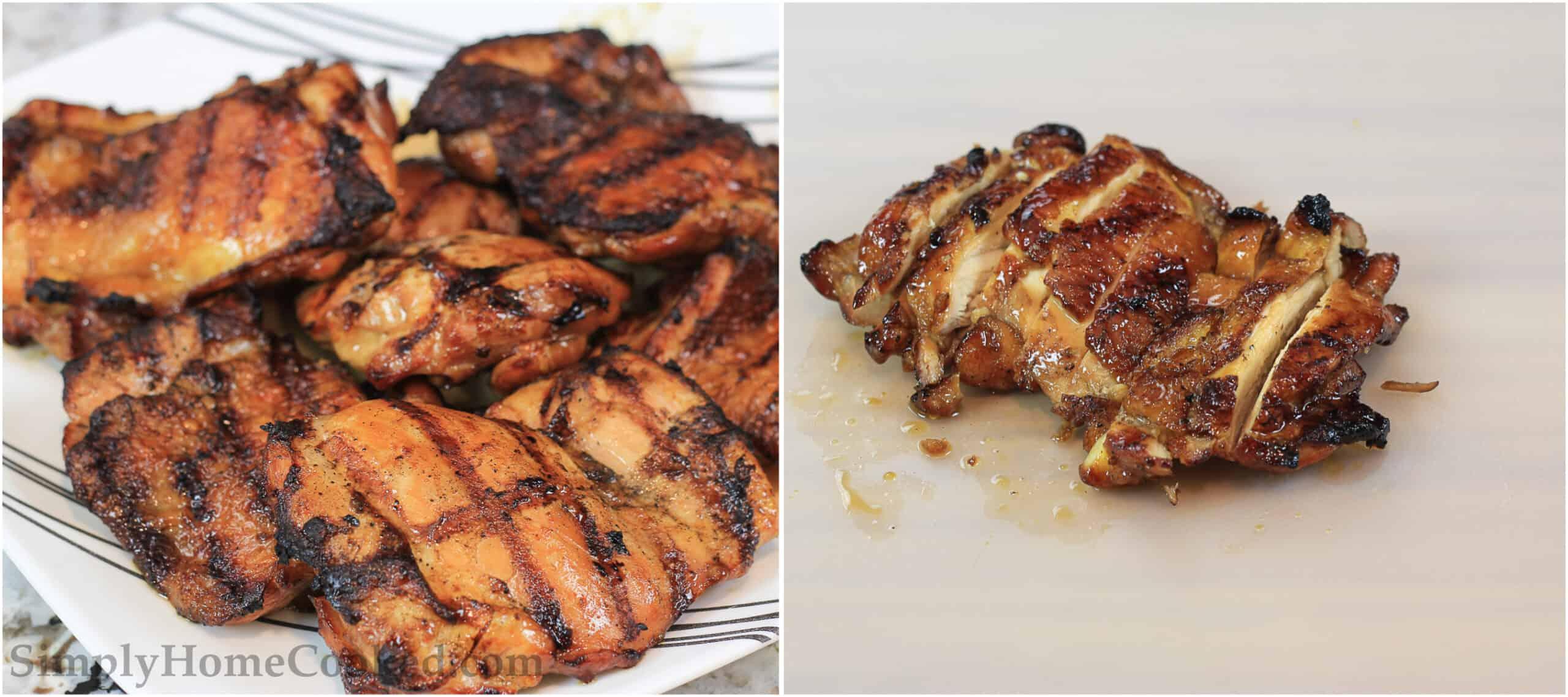 Grilled Teriyaki Chicken sliced