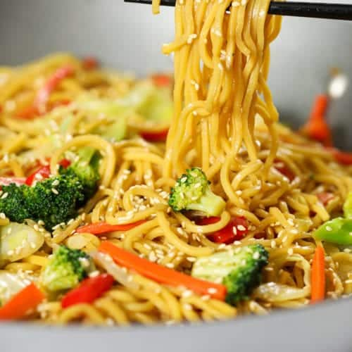 Vegetable Chow Mein Video Simply Home Cooked