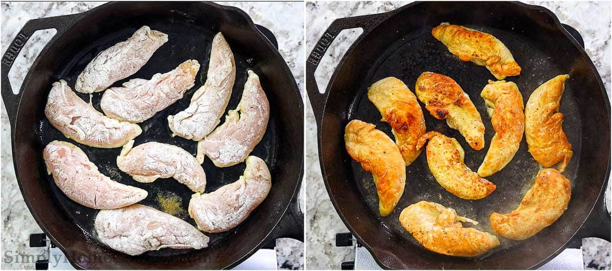 steps to pan fry chicken tenders